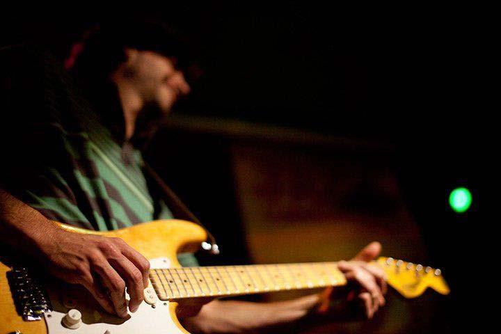 Guitarra y bajo con Marcio Padoan